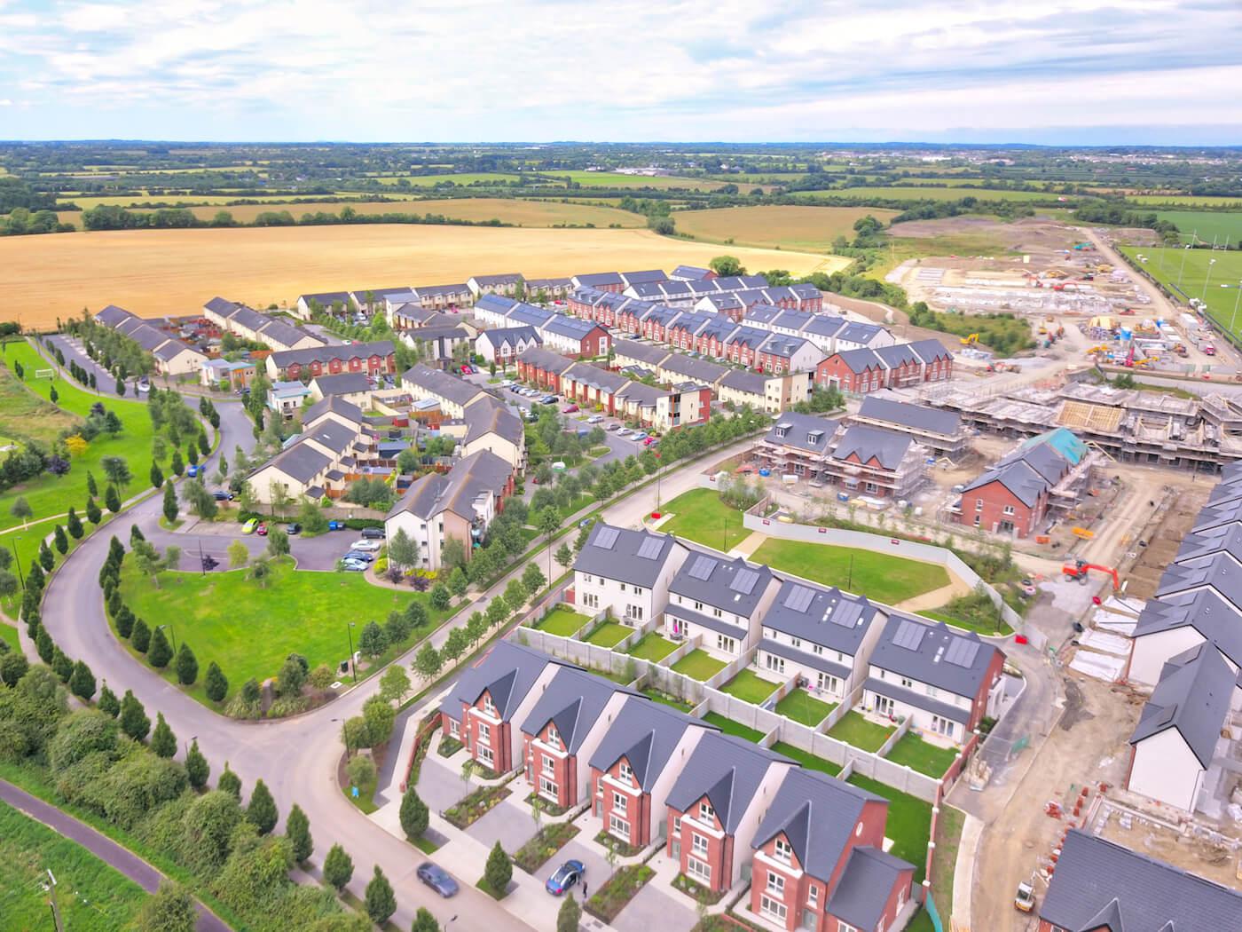 Churchfields Ashbourne by Air View Marketing